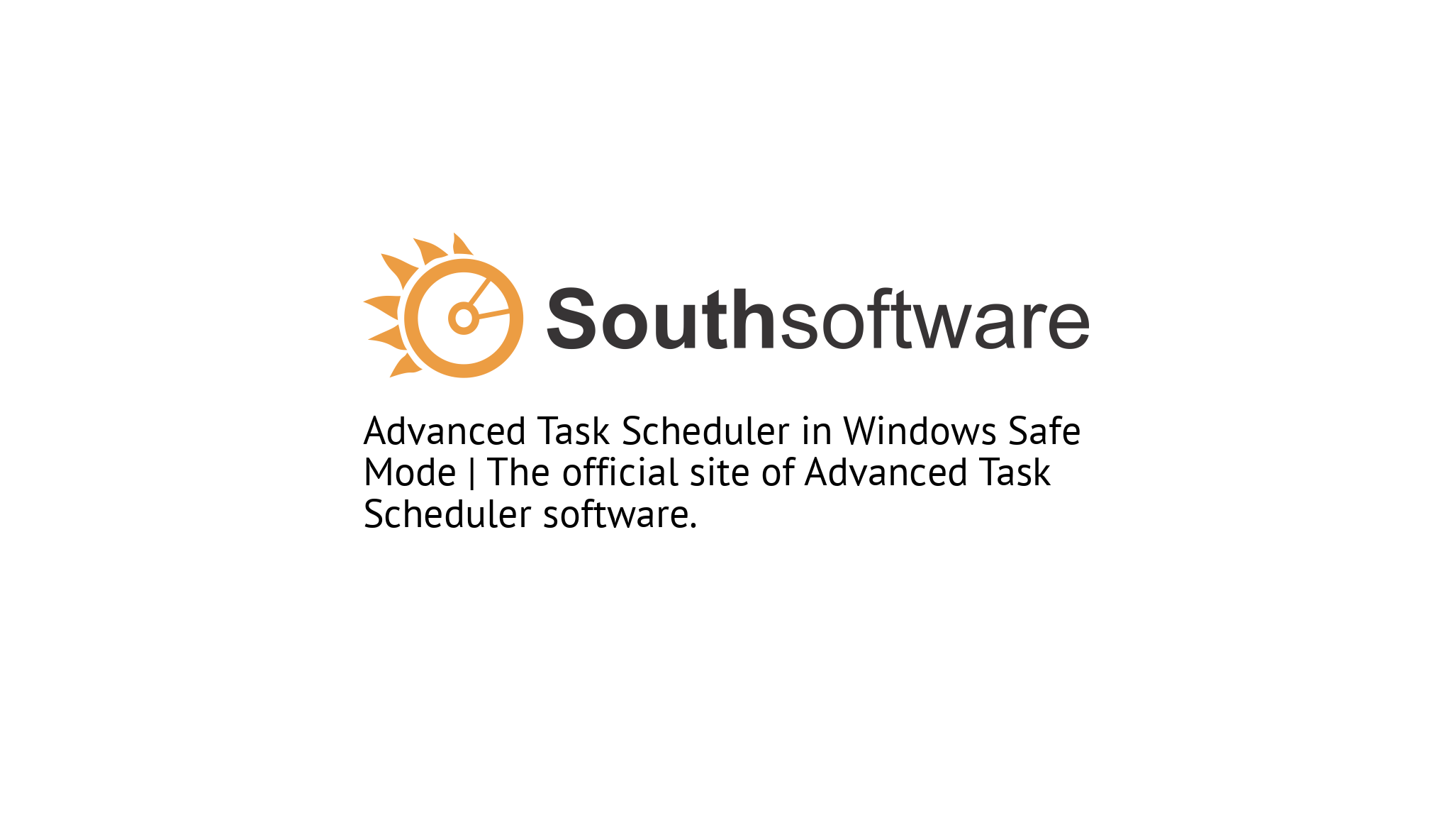 Advanced Task Scheduler in Windows Safe Mode | The official